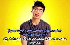 Im a Mashton girl and i love Ash to death but he actually cheated on his gf at the time like two years ago.