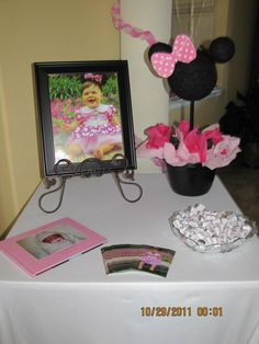 Minnie Mouse Birthday Decor