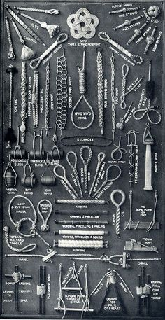 Rope Knots - wish I could find this poster