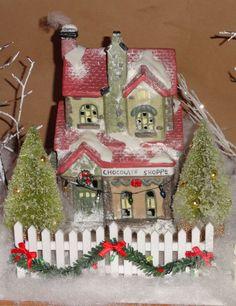 christma villag, christmas villages