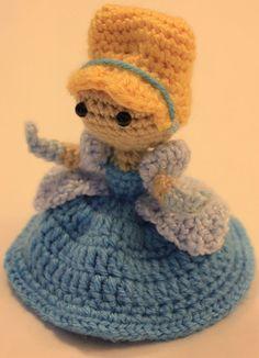 Cinderella Disney Princess Crochet Doll