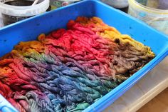 Laura Kemshall: Tips for dyeing threads and fabric together along with her dye recipes