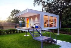 Cool idea for a modern playhouse