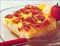 Maple-Bacon Oven Pancake... super easy and good.  I love this site for breakfast ideas!