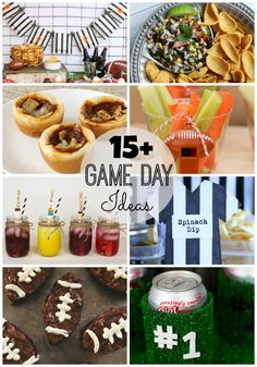 Over 15 Game Day Party or Tailgating Ideas for your next Football Party   Roubinek Reality www.roubinek.net