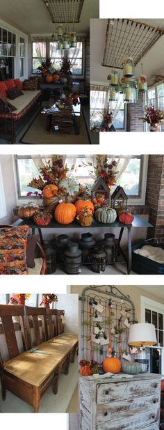 vintage fall decor