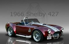 Some would say that the beautiful 427 Cobra could be the best muscle car ever made. It was built based on a lightweight British AC Ace roadster and was the product of automotive legend Carroll Shelby... and it was terrifyingly fast! #spon Watch it here... muscle cars, nut, muscl car