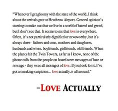 [#Love] is actually all around us. LOVE this movie :).