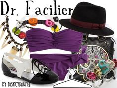 Dr. Facilier by disneybound