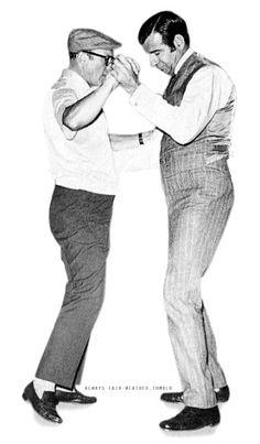 Gene Kelly & Walter Matthau