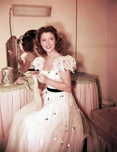 Shirley Temple, 1947.