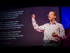 ▶ Stephen Burt: Why people need #poetry - YouTube