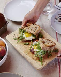 Huck's fried egg sandwich #huckleberry #goopcookbookclub