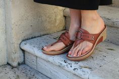 Alegria Lola Cognac - on closeout for $59! | Alegria Shoe Shop #AlegriaShoes #Sandals #Spring2014 #Summer #Closeouts