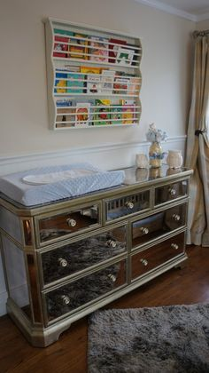 sophisticated changing table