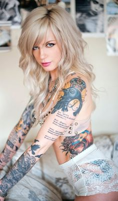 Just awesome tattoos.