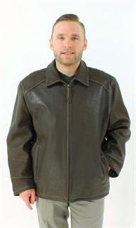 Perfect Three Season Chocolate Brown Leather Jacket