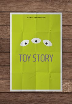Minimalist poster 12 pedro vidotto, poster design, movi poster, minimalist movi, toy stori, minimalist poster, disney, posters, toystori