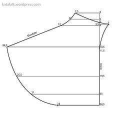 a gollar pattern front