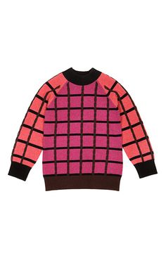 Plaid Sweater by Clements Ribiero