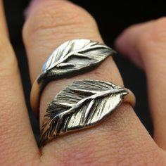 Leaf jewelry obsession