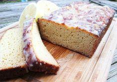 No Grains Delicious Lemon Bread with a Lemon Glaze   #paleo #glutenfree