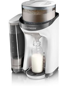 Baby Brezza Formula Pro: Like a Keurig for formula. Indulgent but pretty amazing.
