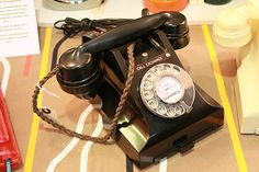 Another wonderful Bakelite Phone converted by us. In full working condition. Was at the Furniture Flea Bethnal Green
