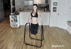 Bubble Butt Workout - dip station - sandbag - time challenge - 18:17