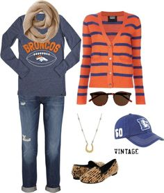 Denver Broncos: Game Day Fashion I dont like the shoes ...