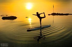 now that i tried SUP yoga, i know how hard this can be