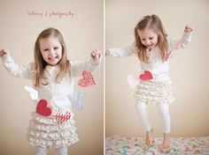 children's photography, Valentine's Day
