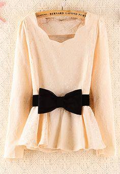 price:19.99usd Elegant Floral Pattern Slim Bowknot Dress