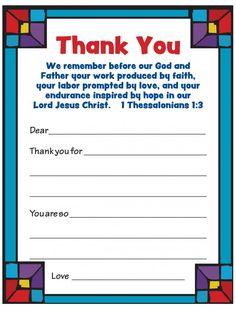 Volunteer Appreciation Cards