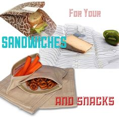 Sandwich and snack bags