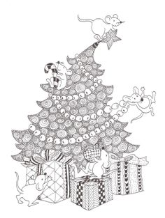 Zentangle made by Mariska den Boer 85