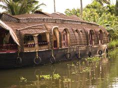A traditional boat, Kerala
