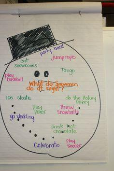 What Do Snowmen Do at Night? A Little Bit of Frosty Fun | Scholastic.com
