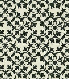 Home Decor Fabric-Waverly Courtyard Black: home decor fabric: fabric: Shop | Joann.com