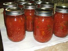 Canning Homemade Rotel