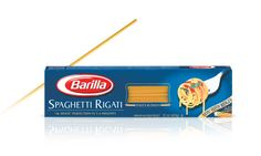 """My family really likes the """"Spaghetti Rigati"""" by Barilla. They have grooves (great for the sauce and for fast cooking)."""