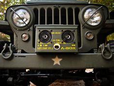 thodio freedom hifi - the blog: thodio A-BOX, the original .50 cal Ammo Can Boombox...