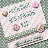 free scrapbook, digit scrapbook, card idea, scrapbook kit, circut idea