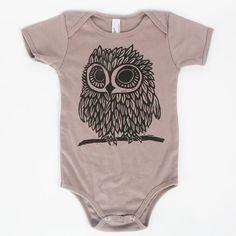 futur, owls for baby, owl freakin, owl onesie
