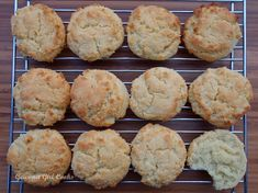 Gourmet Girl Cooks: Buttermilk Biscuits #2 (Improved) -- Served w/ Spicy & Sweet Autumn Chili