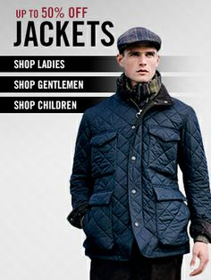 Up to 50% off jackets from premium brands including #Barbour, #Lavenham, #Musto, #Napapijri and more http://www.countryattire.com/