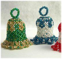 Crafts: Beaded Ornaments on Pinterest | Beaded Ornaments, Bead ...