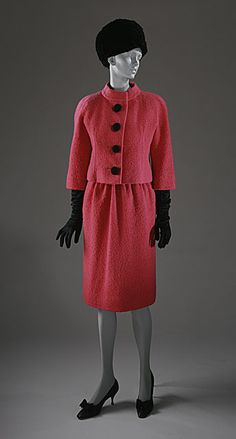 Suit  Cristobal Balenciaga, 1961  The Los Angeles County Museum of Art
