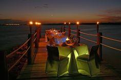 Romantic dinner on the beach at El Dorado Seaside Suites, by Karisma www.karismahotels.com  @Dreamscape Travel Group, Llc.  ..#DreamscapeTravelGroup @DreamscapeVac4U Let Dreamscape Travel Group help plan your next destination wedding, honeymoon or vacation getaway, Call 224 265 0197