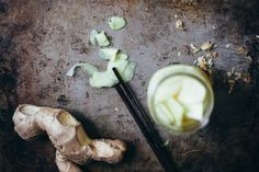 Making Pickled Ginger